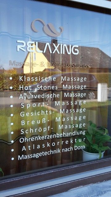 Relaxing Massage und Wellness in Baldersheim